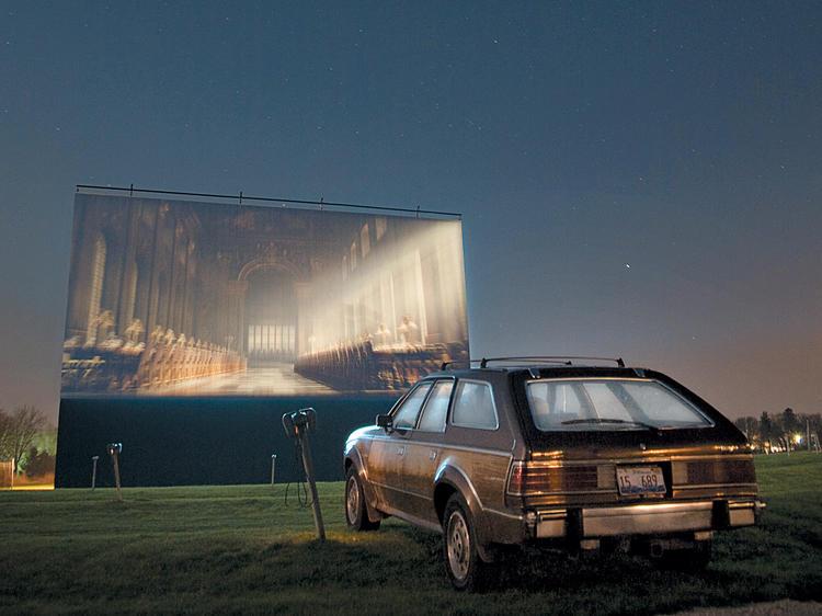 Drive-in movie theater: Cascade Drive-In