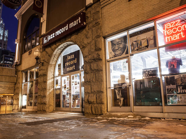 Jazz and blues record store: Jazz Record Mart