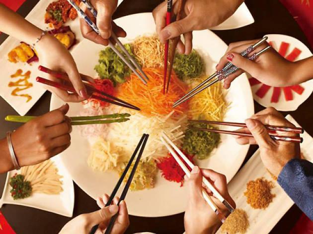 Si Chuan Dou Hua Chinese New Year menu