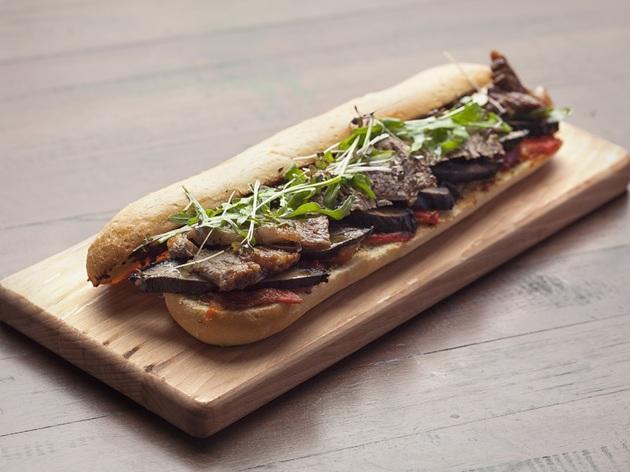 Bochinche steak sandwich