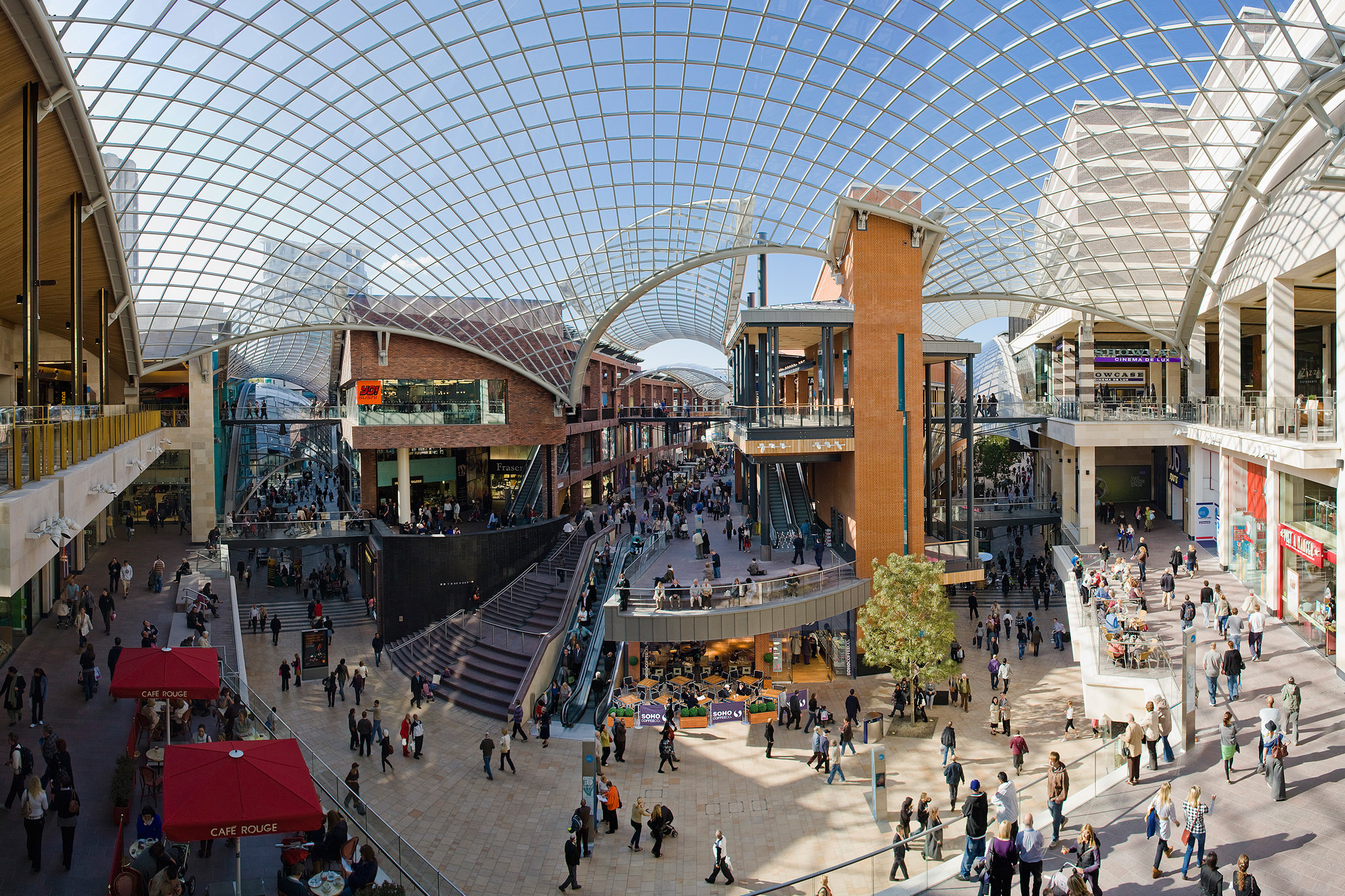 Cabot Circus Attractions In City Centre Bristol