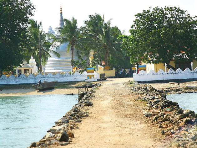 Nagadeepa is a small islet in Sri Lanka