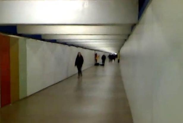Transbord al metro de Passeig de Gràcia