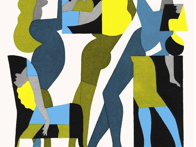 (Couverture de la revue 'Nyctalope' / Illustration : Bénédicte Muller / ©Nyctalope / Courtesy Arts Factory)