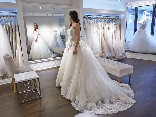 b43a977005 The best bridal shops in Chicago for the perfect wedding dress
