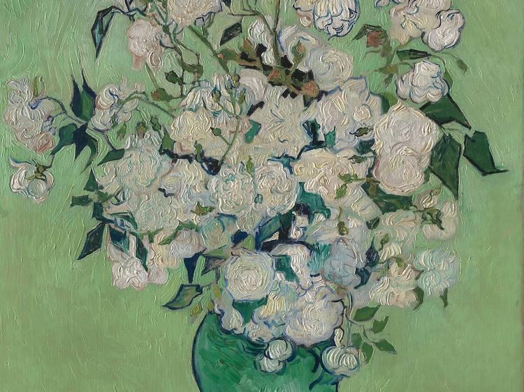 """""""Van Gogh: Irises and Roses"""""""