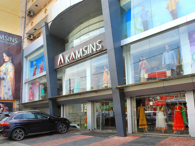 Kamsins is a clothing store in Colombo