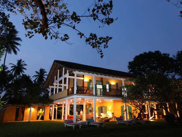 The Last House is a boutique hotel in Tangalle
