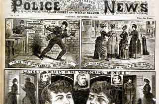 Jack the Ripper tour, London