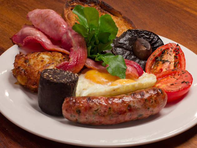 Top ten breakfasts in London
