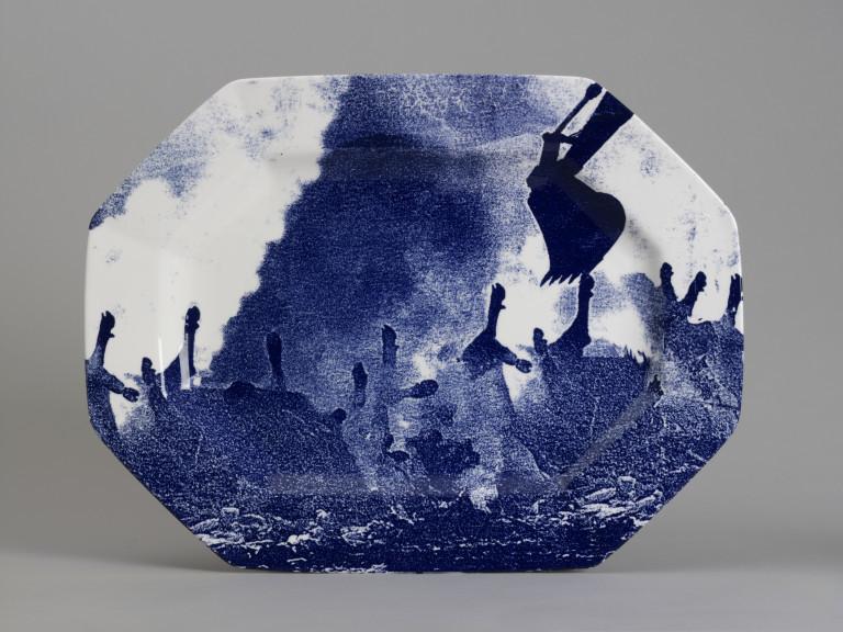 Blue and White: British Printed Ceramics