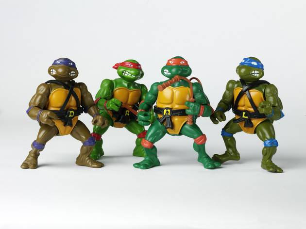 V&A Museum of Childhood, Teenage Mutant Ninja Turtles