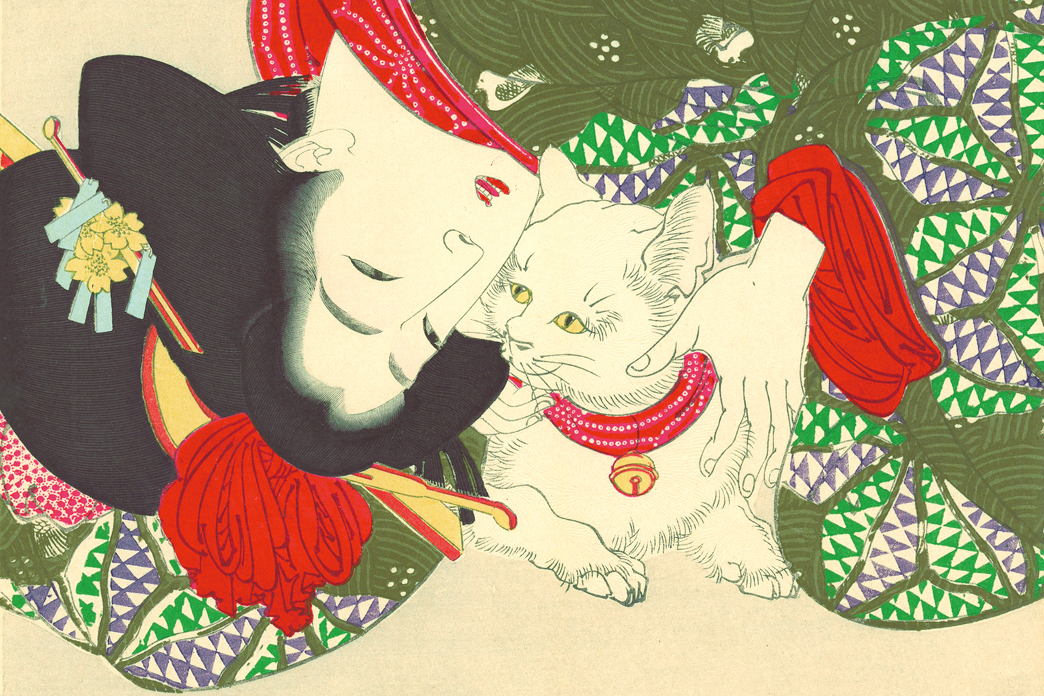 Get your fill of cat pictures at the Japan Society