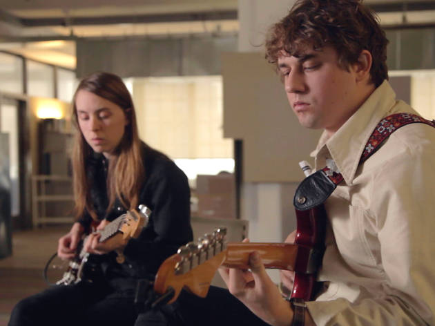 "Kevin Morby plays ""Parade"" and ""The Dead They Don't Come Back"""