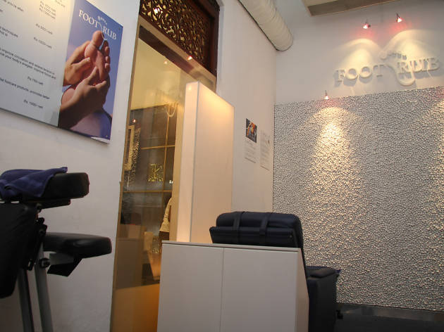 Foot Rub is a spa in Colombo