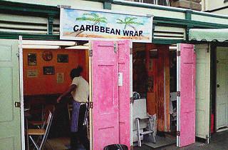 Caribbean Wrap, St Nicks, Bristol