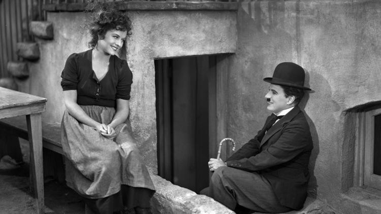 Charlie Chaplin et Paulette Goddard