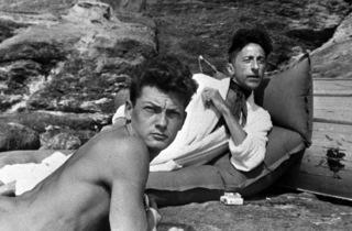 (Jean Cocteau et Jean Marais)