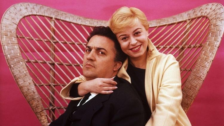 Federico Fellini et Giulietta Masini