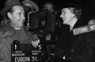 (Roberto Rossellini et Ingrid Bergman)