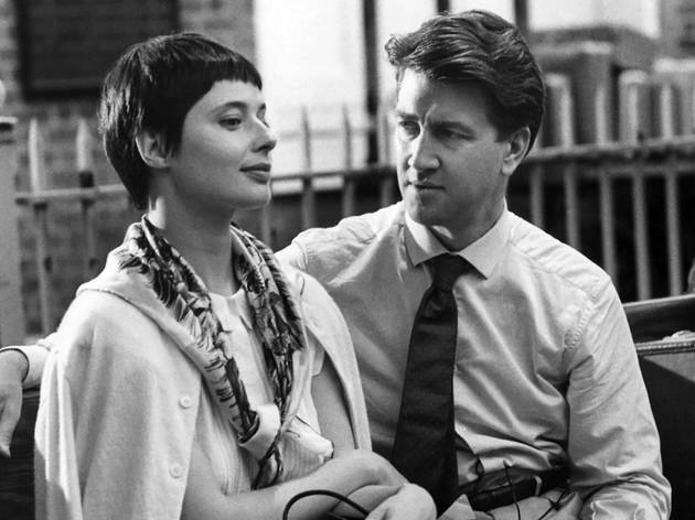 (David Lynch et Isabella Rossellini)
