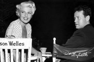 (Orson Welles et Rita Hayworth)