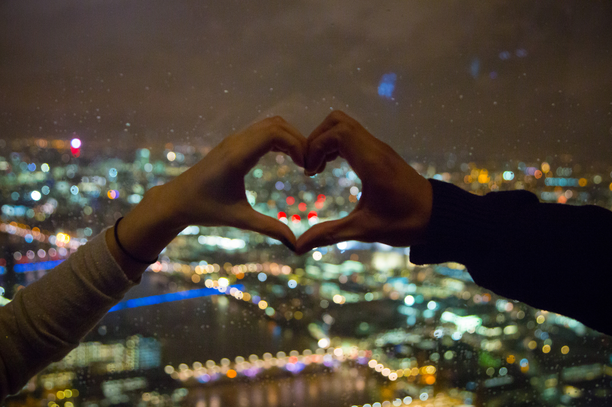 Valentine's Day at The View from The Shard