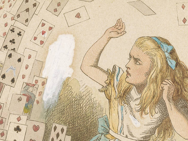 John Tenniel, 1820-1914, Shower of Cards