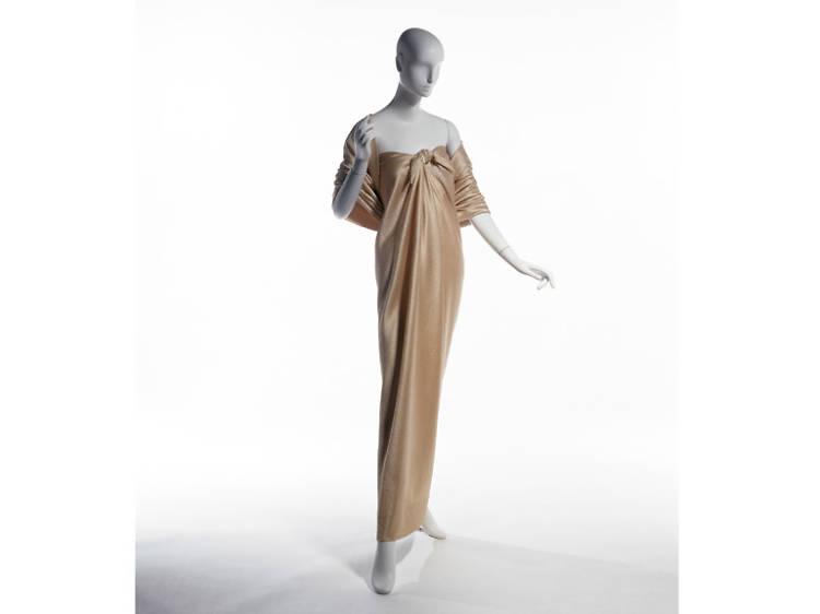 """Yves Saint Laurent + Halston: Fashioning the 70s"""