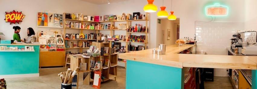 La Fiambrera: libros + café + sala de exposiciones