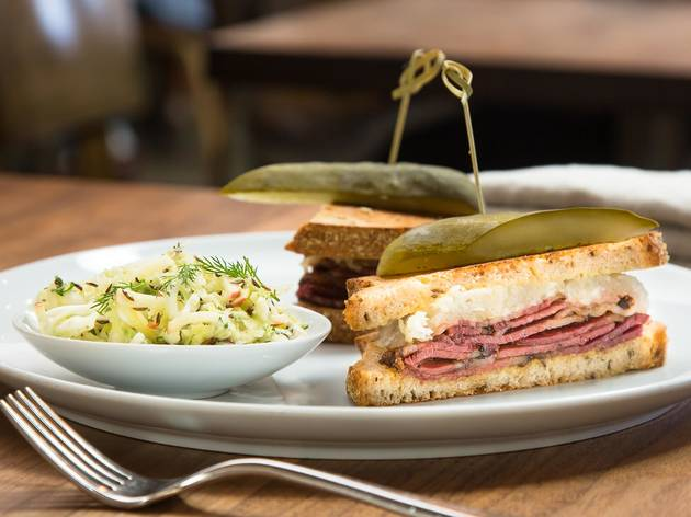 Pastrami sandwich at Farmshop