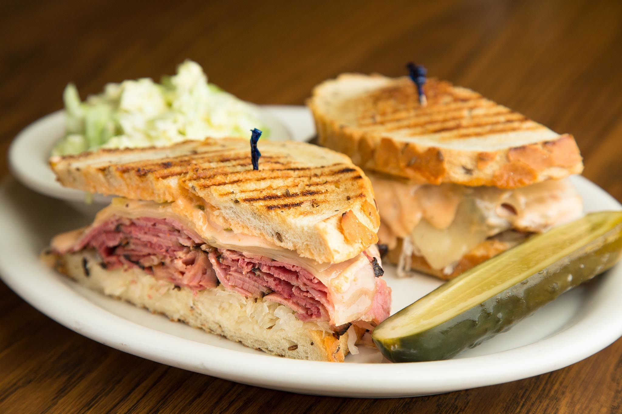 Pastrami Reuben at Greenblatt's Deli-Restaurant