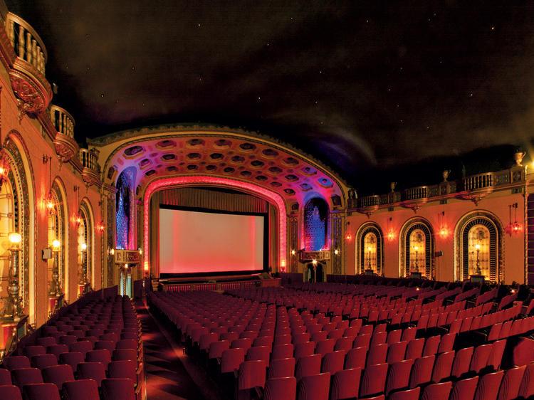 Single-screen movie theater: Patio Theater