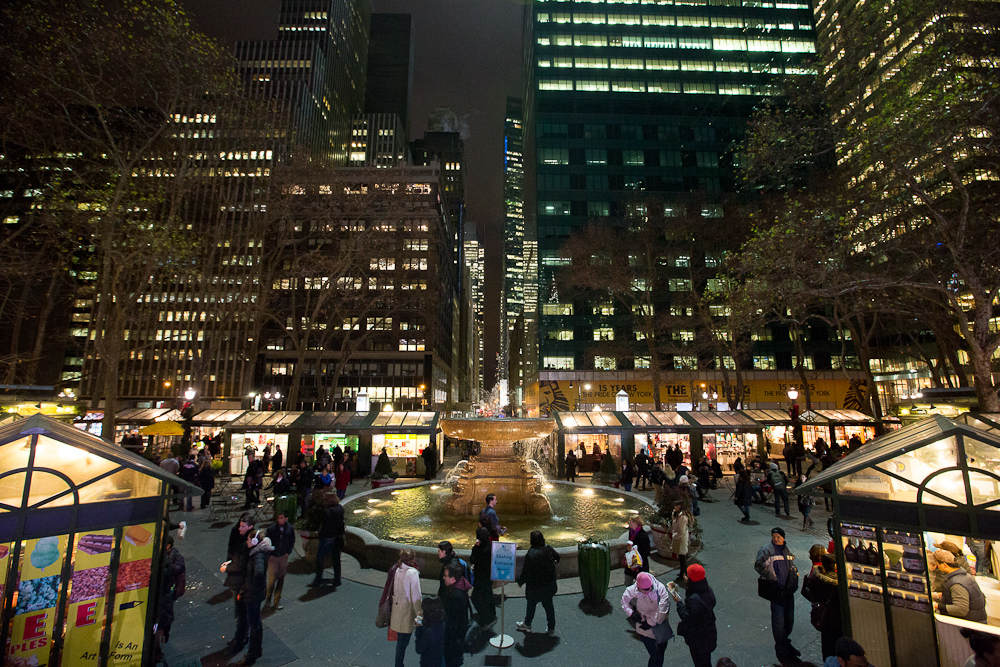 Winter Carnival at Bryant Park