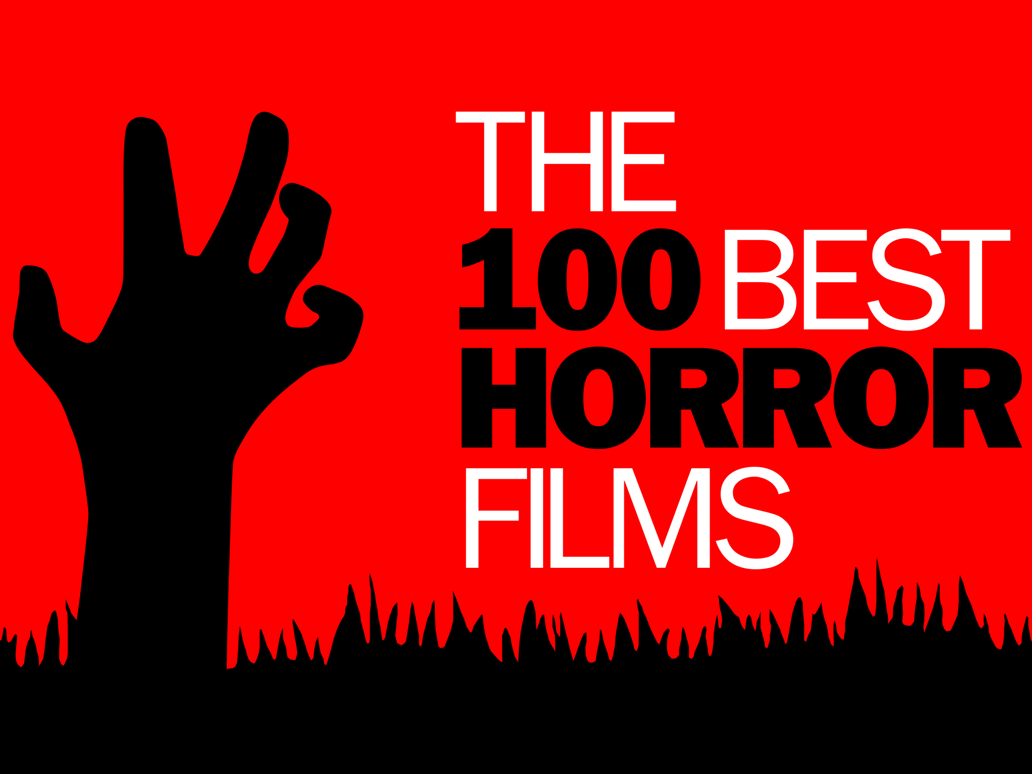 The 100 best horror films logo, 2048x1536