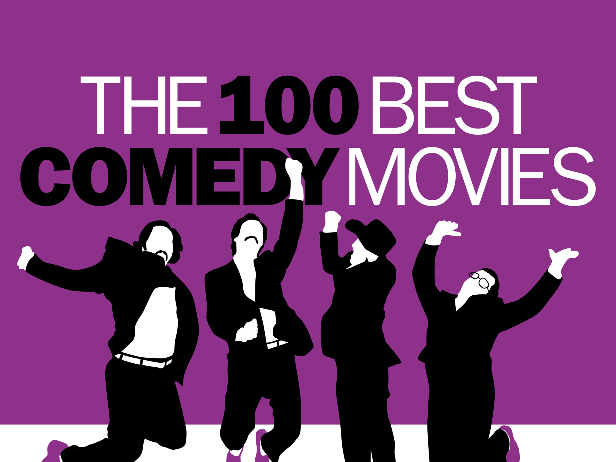 The 100 best comedy movies