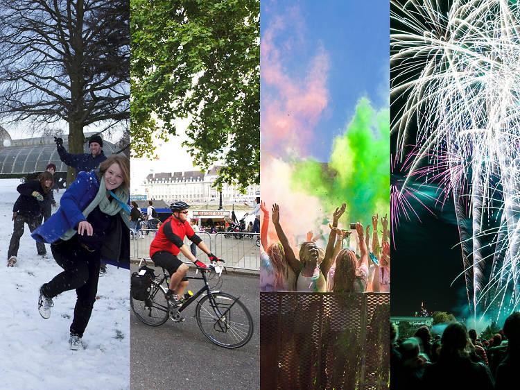 Year-round London events calendar
