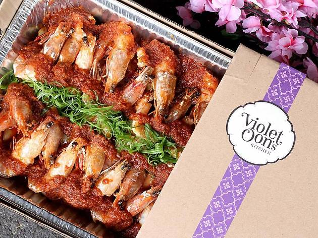 Nonya CNY Feast: Party Trays from Violet Oon's Kitchen