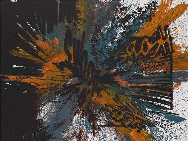 Christian Marclay ('Actions: Swoop Splosh Fwsh (No 2)', 2013)