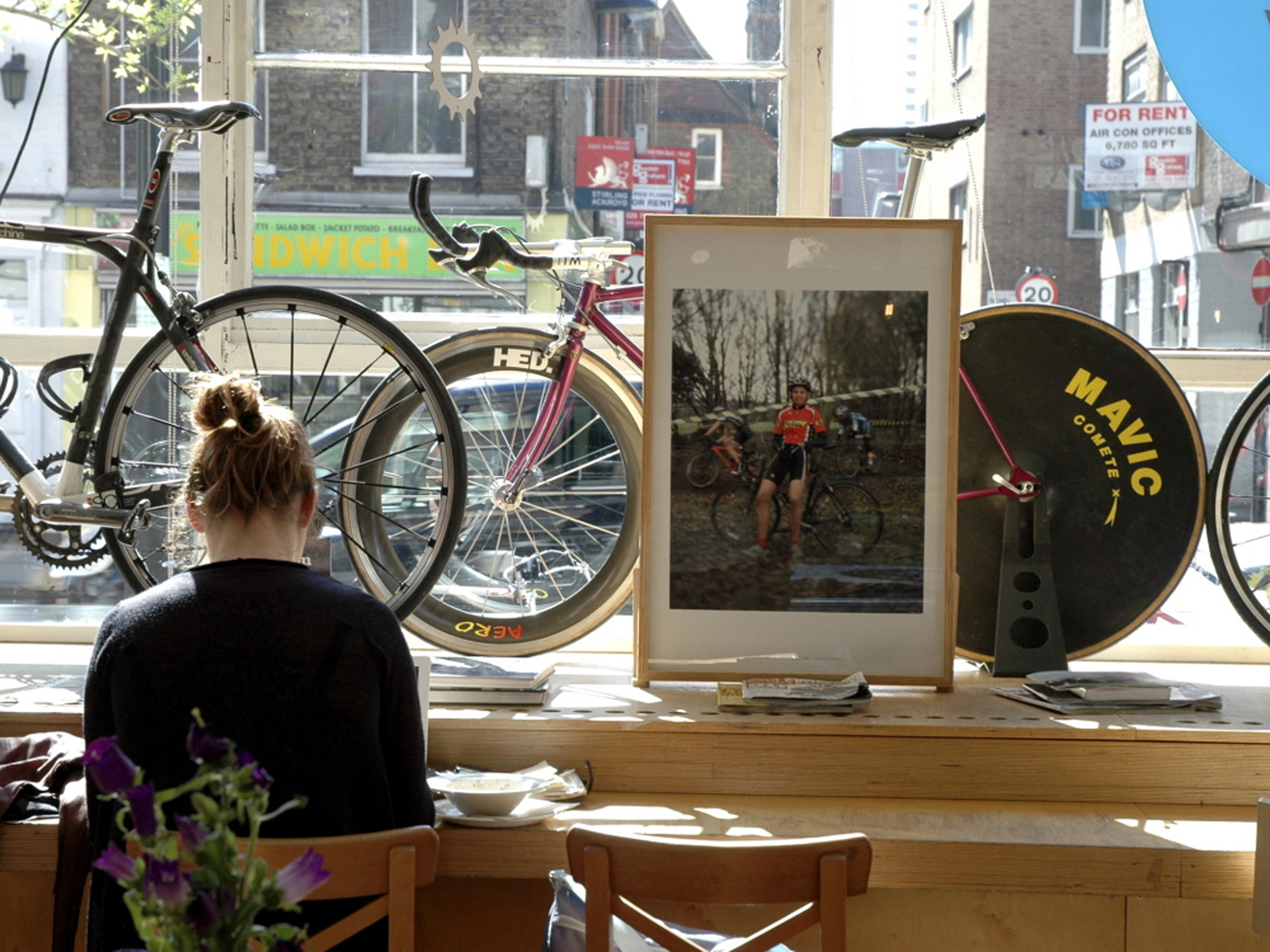 London's best cycle cafés