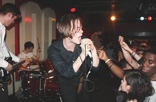Iceage playing at 100 Club. London, 2/12/14