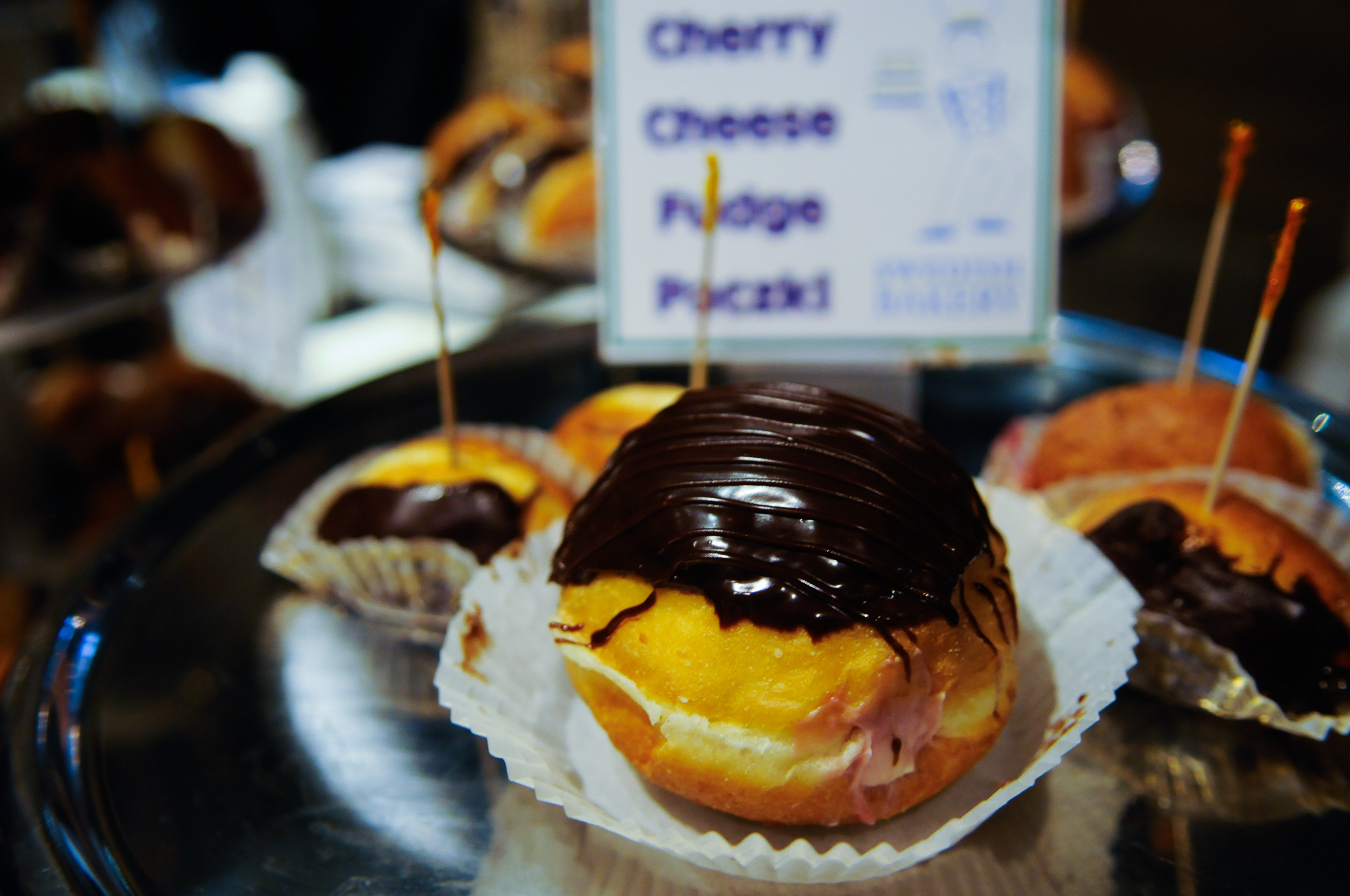 ​The second annual Donut Fest was held yesterday at 1st Ward in Wicker Park.