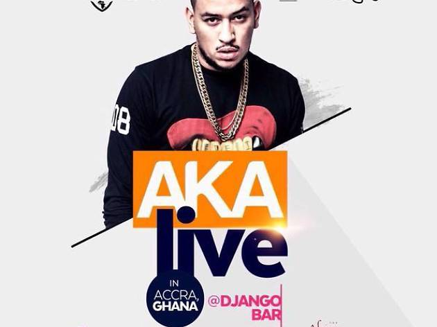AKA concert at Django Bar, Accra, Ghana
