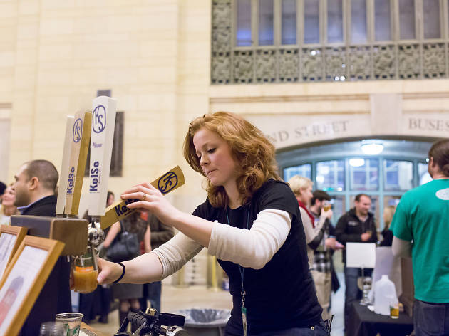 NYC Beer Week 2015 Opening Tap