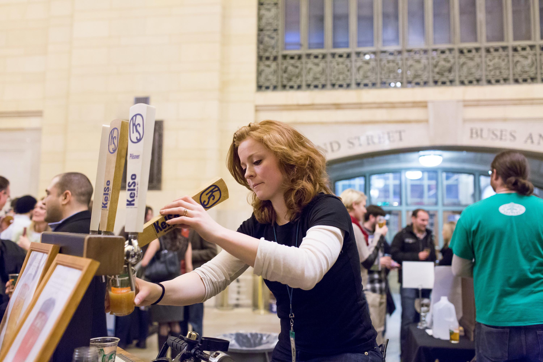 NYC Beer Week 2015 Opening Tap