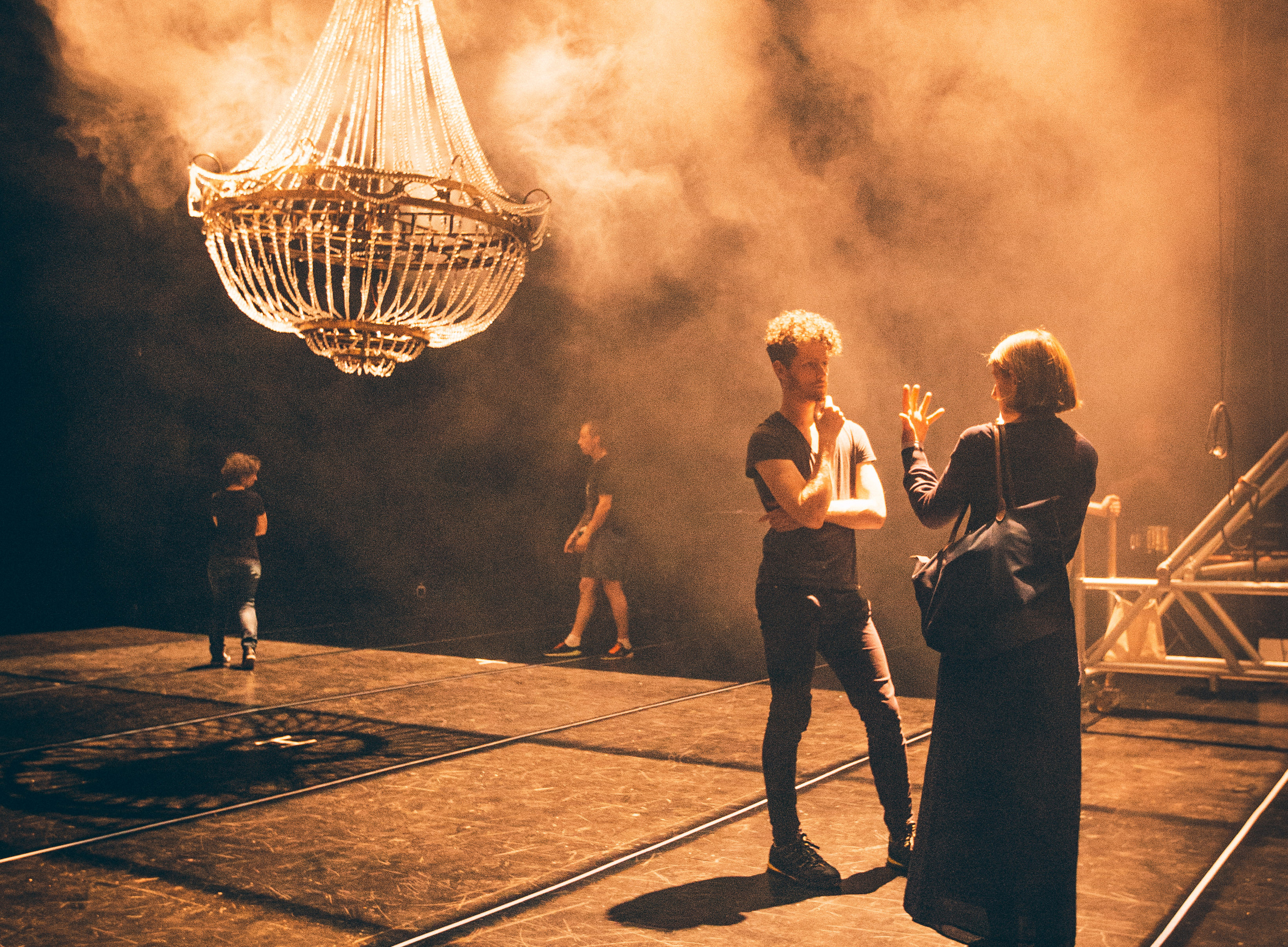 Behind the Lens: a glimpse backstage at the Edinburgh International Festival
