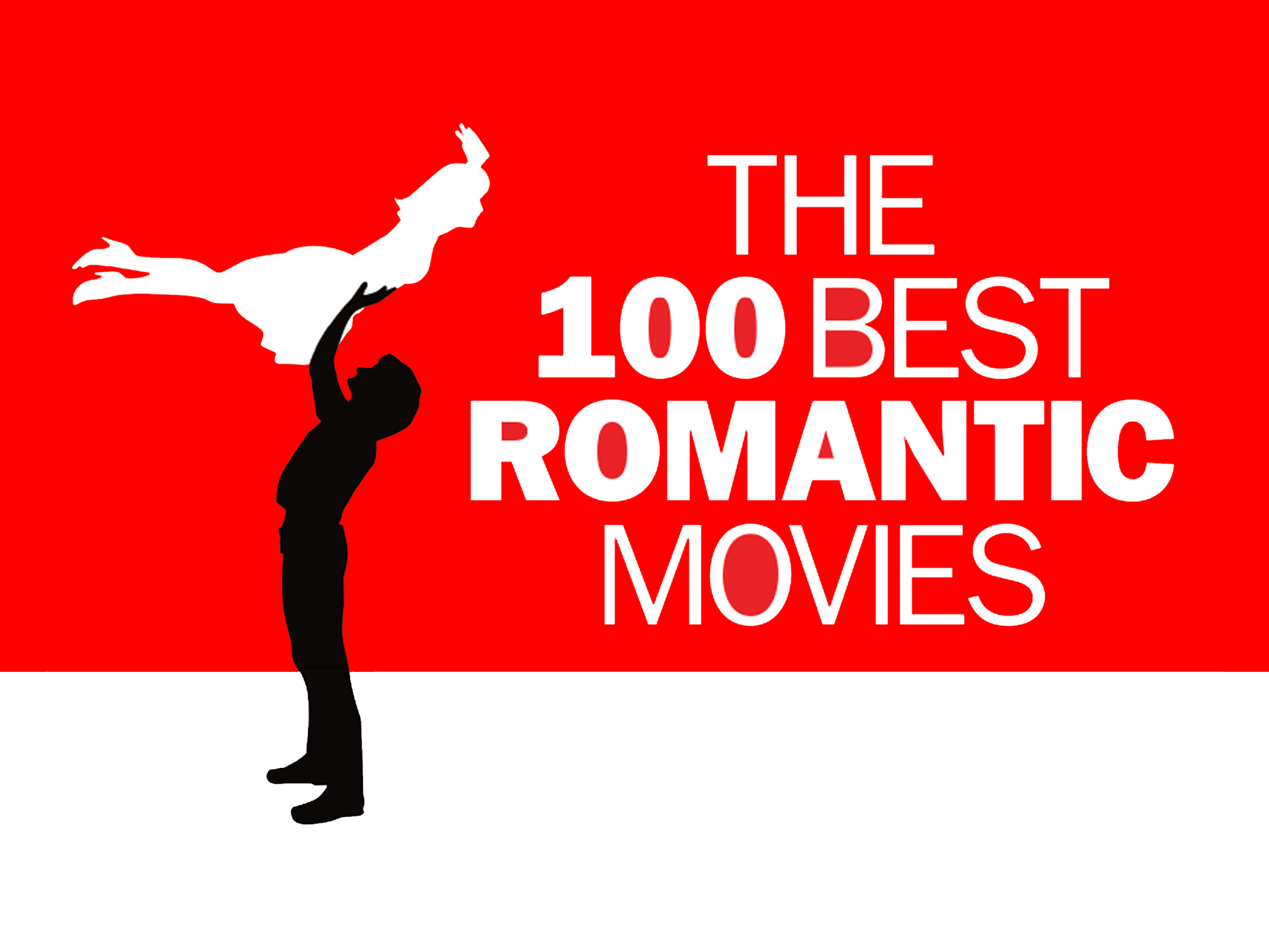 The 100 best romantic movies logo, 2048x1536