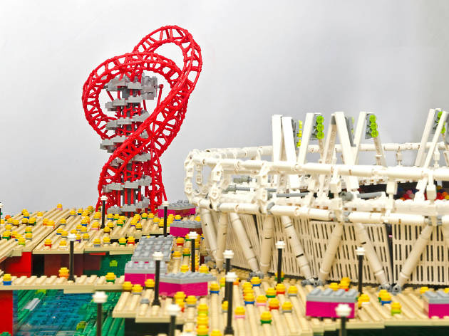 Bricks in the Sky Lego Exhibition