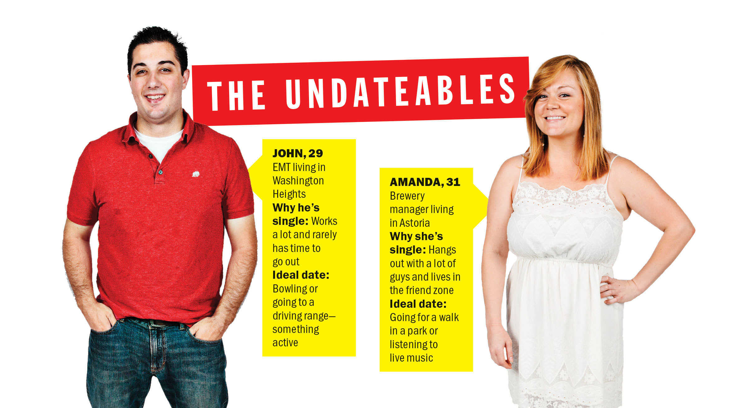 After the Undateables: A terrible second date