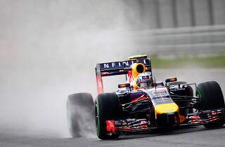 Infiniti Red Bull Racing Season Flag Off